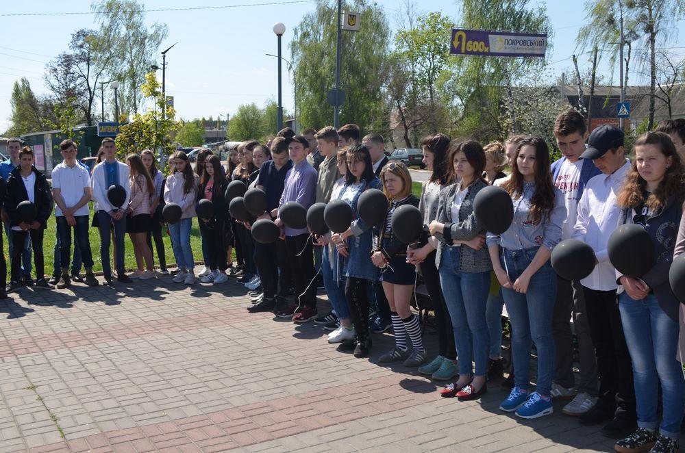 В Гостомелі вшанували ліквідаторів аварії на Чорнобильській АЕС