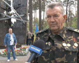 У Бучі вшанували пам'ять ліквідаторів наслідків аварії на Чорнобильській АЕС