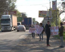 Фейкова акція протесту у Бучі проти Linevich Group: у кращих традиціях спланованої клоунади