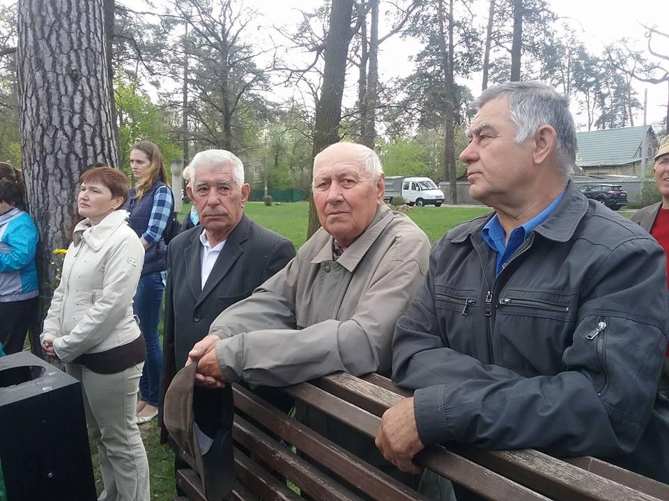 3-3 У Бучі вшанували пам'ять ліквідаторів наслідків аварії на Чорнобильській АЕС