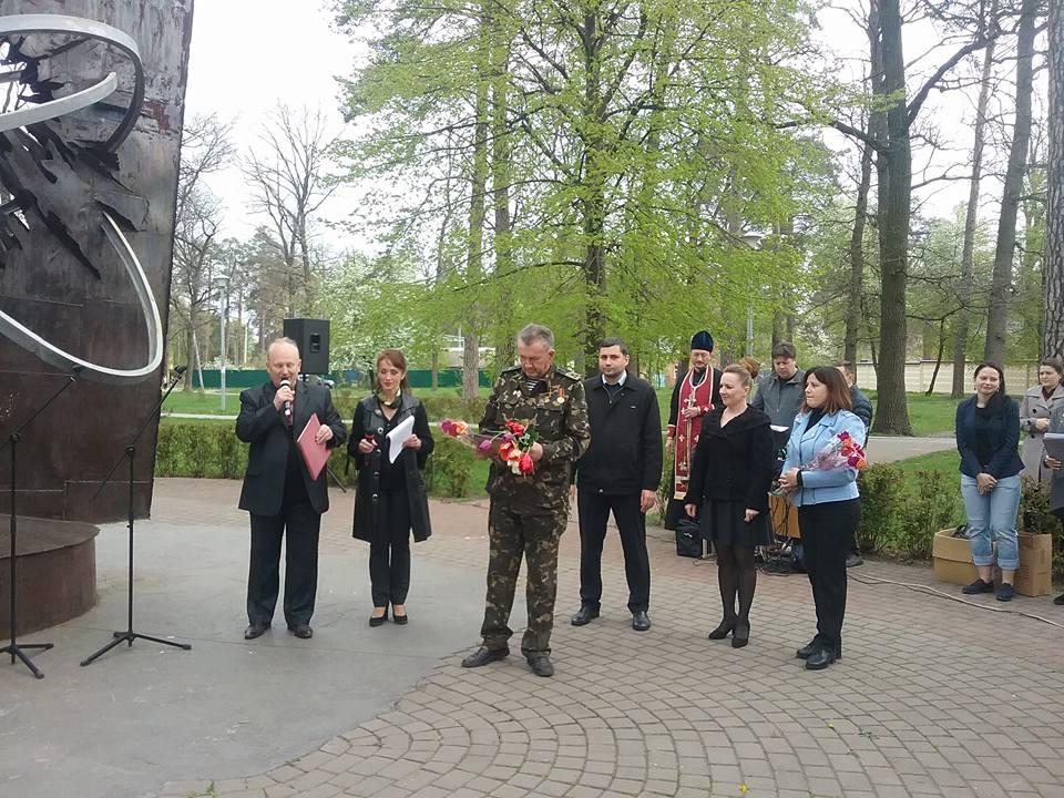 5-2 У Бучі вшанували пам'ять ліквідаторів наслідків аварії на Чорнобильській АЕС