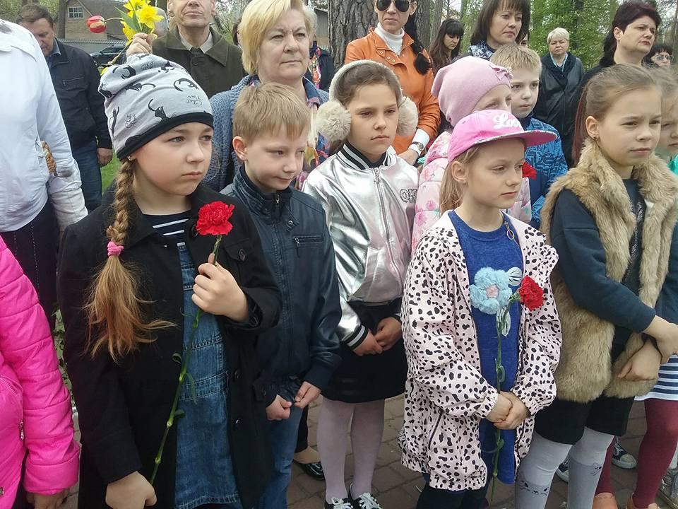 7-3 У Бучі вшанували пам'ять ліквідаторів наслідків аварії на Чорнобильській АЕС