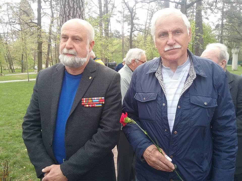 9-2 У Бучі вшанували пам'ять ліквідаторів наслідків аварії на Чорнобильській АЕС