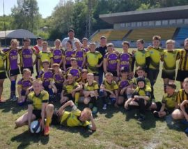 У відбірковому турі чемпіонату України з регбі ірпінська команда «Росомахи» посіла перше місце