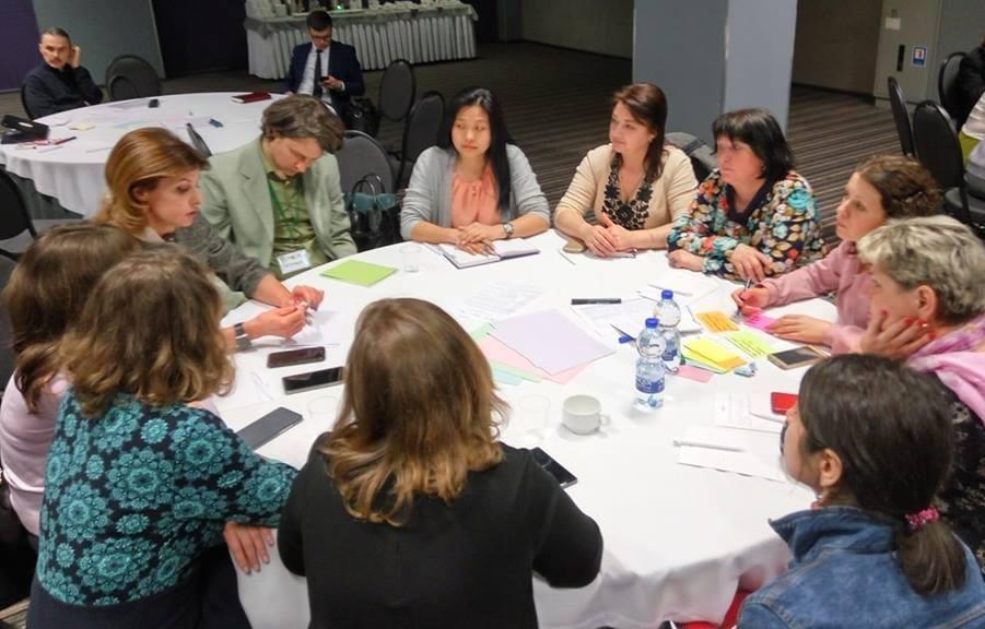 Ірпінці обговорювали питання інклюзивної освіти на стратегічній сесії за участю Першої леді України