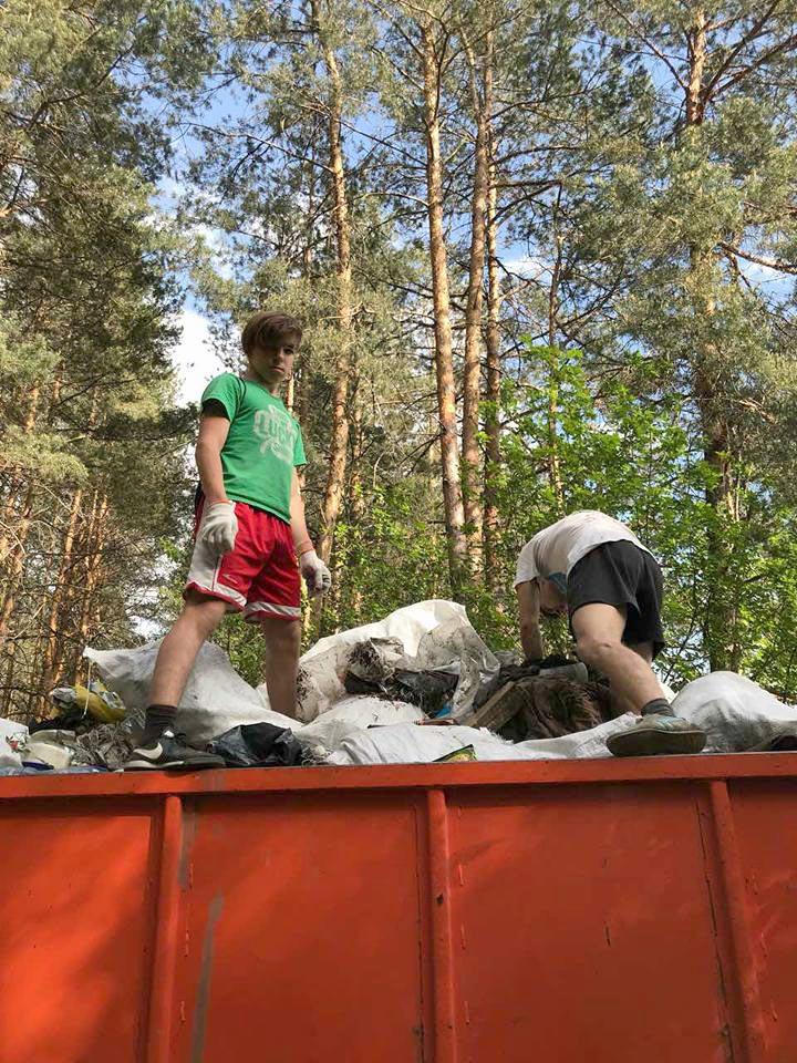 1405_chysto_3 Жителі села Здвижівка зібрали дві машини сміття