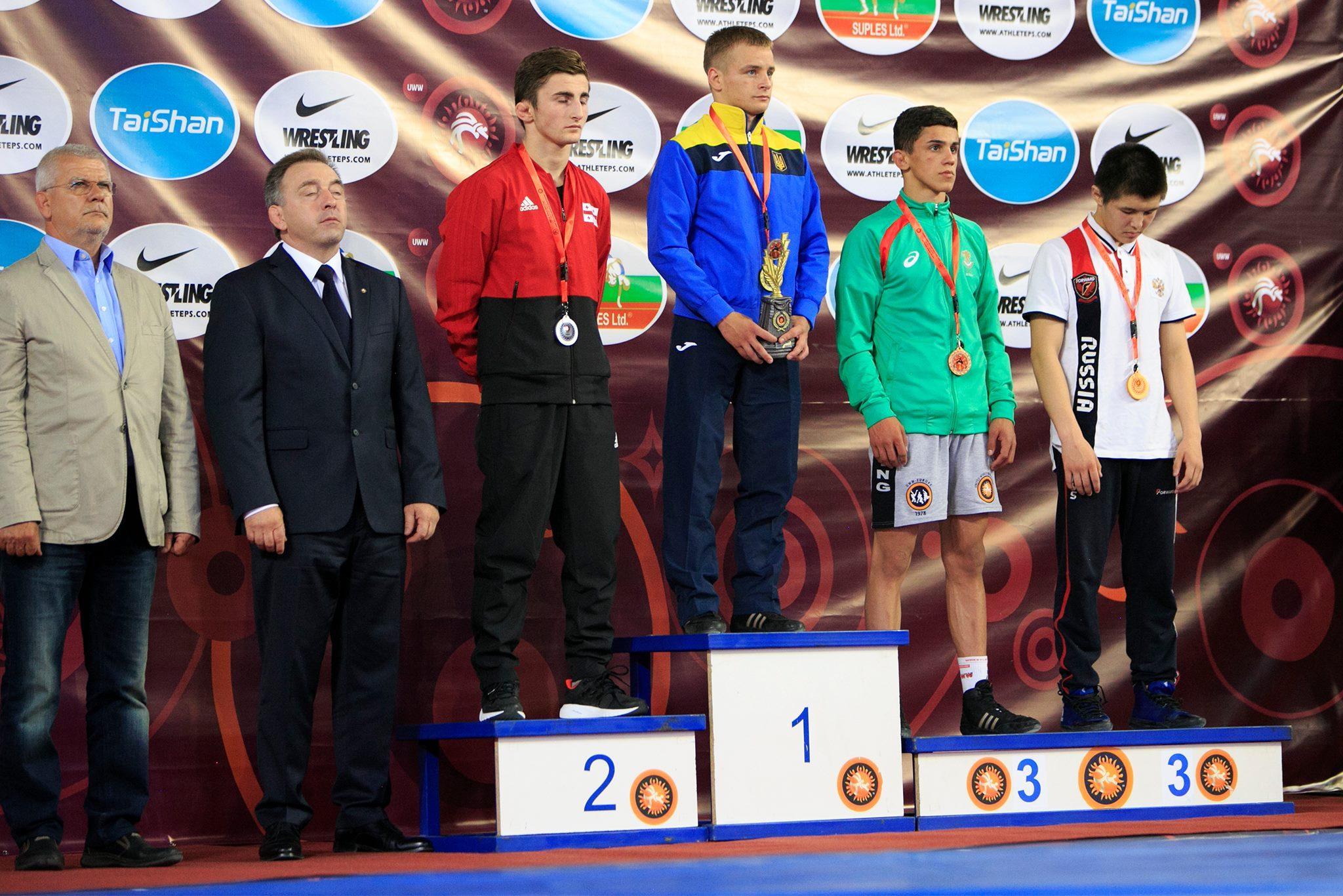 2205_chempyon Спортсмен із Бородянщини став чемпіоном Європи з вільної боротьби
