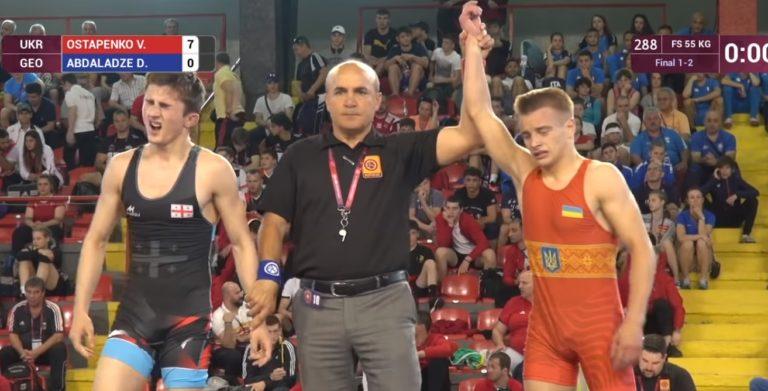 2205_chempyon_2 Спортсмен із Бородянщини став чемпіоном Європи з вільної боротьби