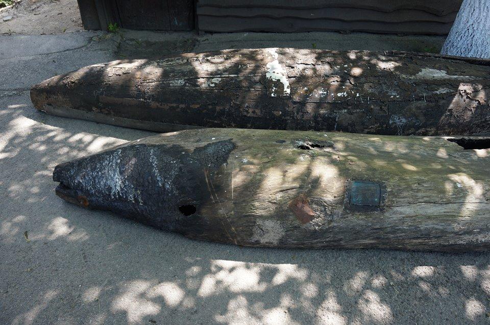 Відразу два човни-довбанки з'явилися у Вишгороді - музей, ВІКЗ, Вишгород - 32164435 155852175265210 7227297393471913984 n