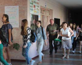 У Коцюбинському провели навчальну евакуацію