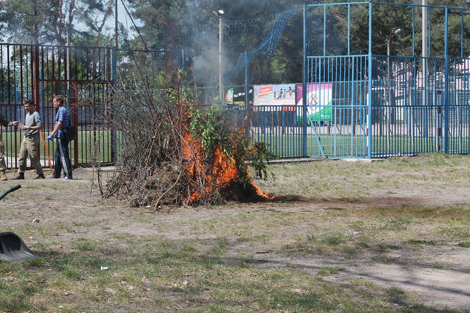 У Коцюбинському провели навчальну евакуацію - надзвичайна ситуація - 7 2