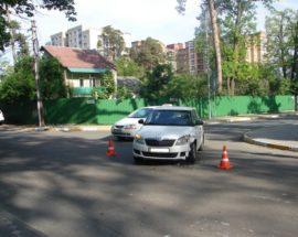 В Ірпені по вулиці Садовій знову сталася аварія