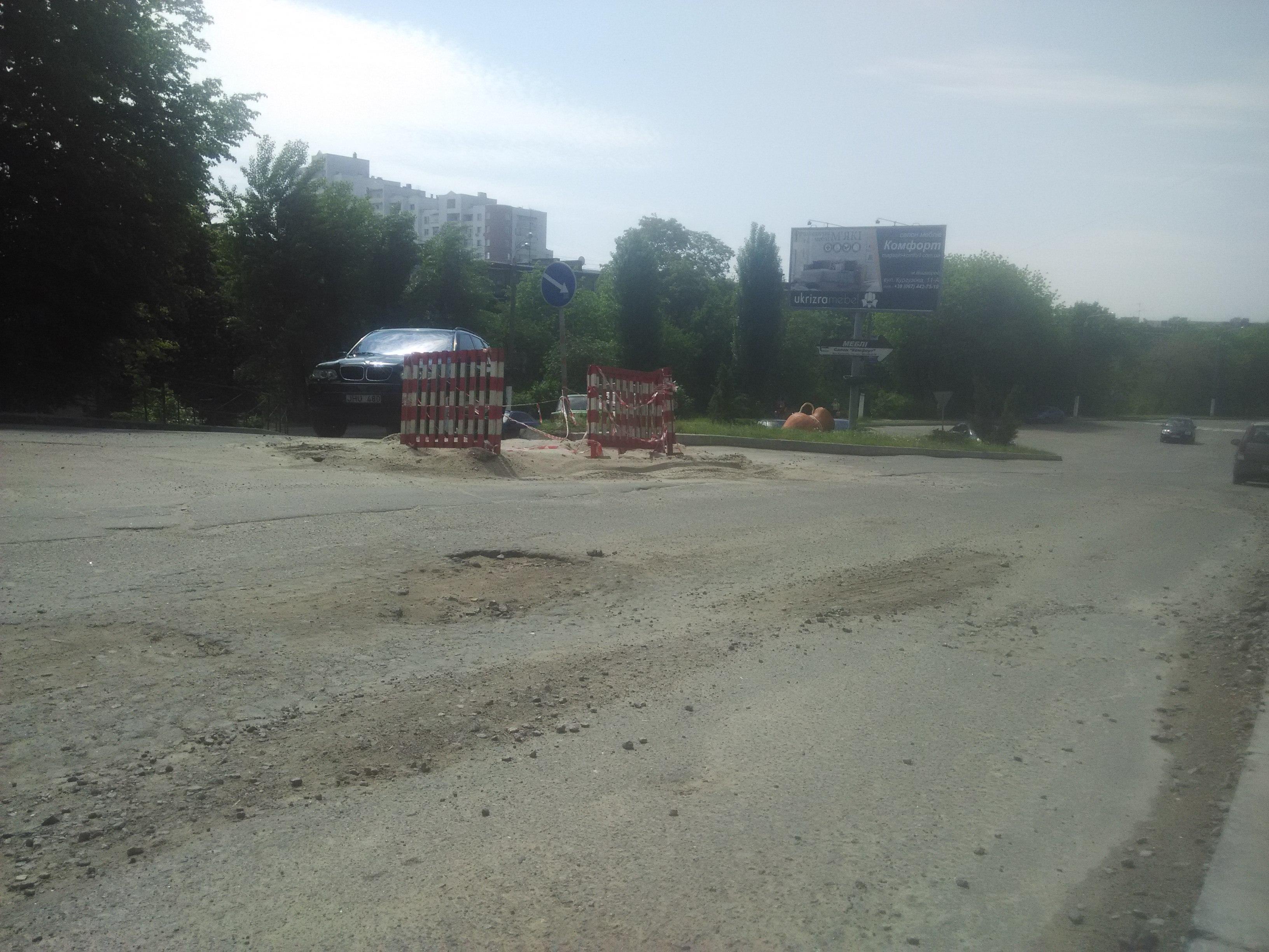 Вишгородські дороги: перше місце в обласному рейтингу, але потребують вдосконалення - стан доріг, ремонтні роботи, Ремонт, дороги, Вишгород - IMG 20180508 114827