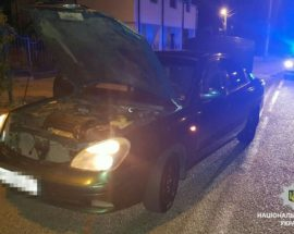 У Романівці поліцейські виявили автомобіль із ознаками підробки номерів агрегатів
