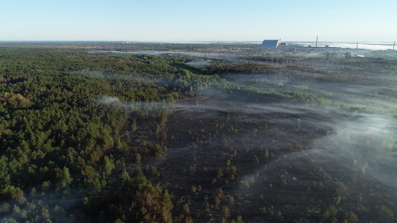 0706_chornobyl Пожежа у Чорнобильскій зоні локалізована