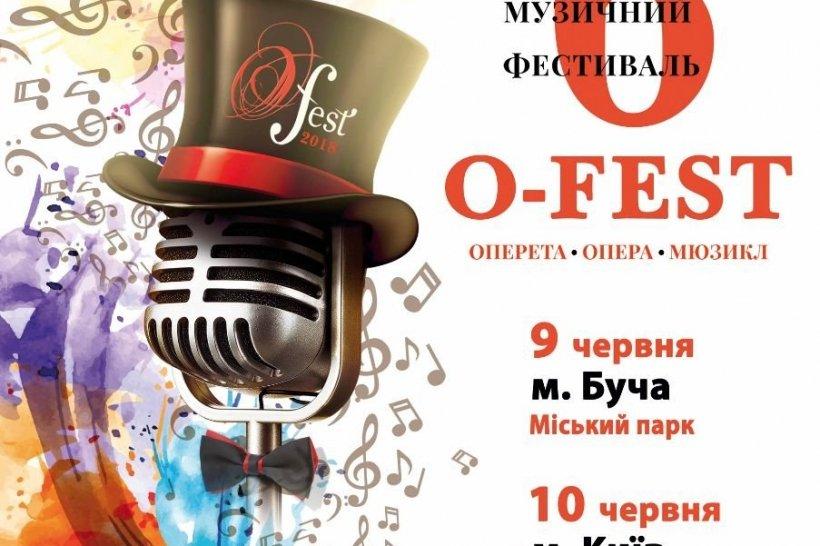 9 червня у Бучі відбудеться шостий Міжнародний музичний фестиваль О-Fest