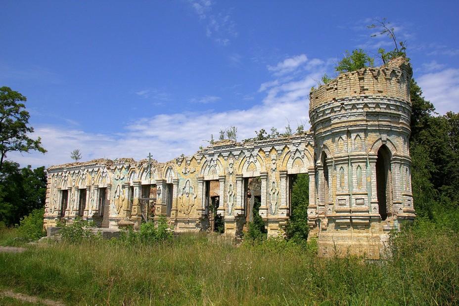 1406_ruyiny Руїни замку Остен-Сакен повернуто у власність громади Немішаєвого