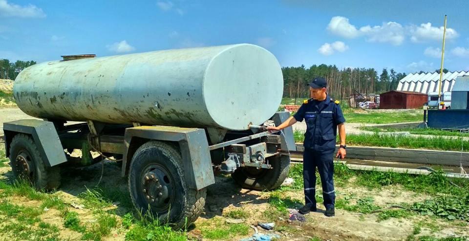 2606_ryatuvalnyky_1 Бородянські рятувальники перевірили полігон твердих побутових відходів