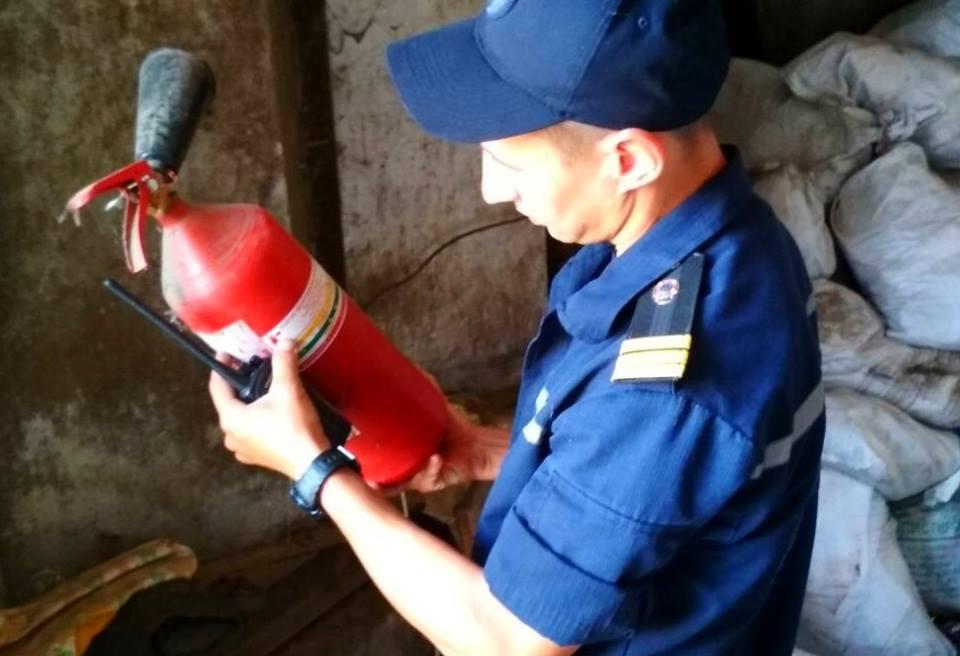 2606_ryatuvalnyky_2 Бородянські рятувальники перевірили полігон твердих побутових відходів