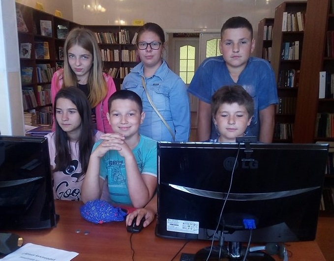 Озерська сільська бібліотека з турботою про всебічний розвиток дітей