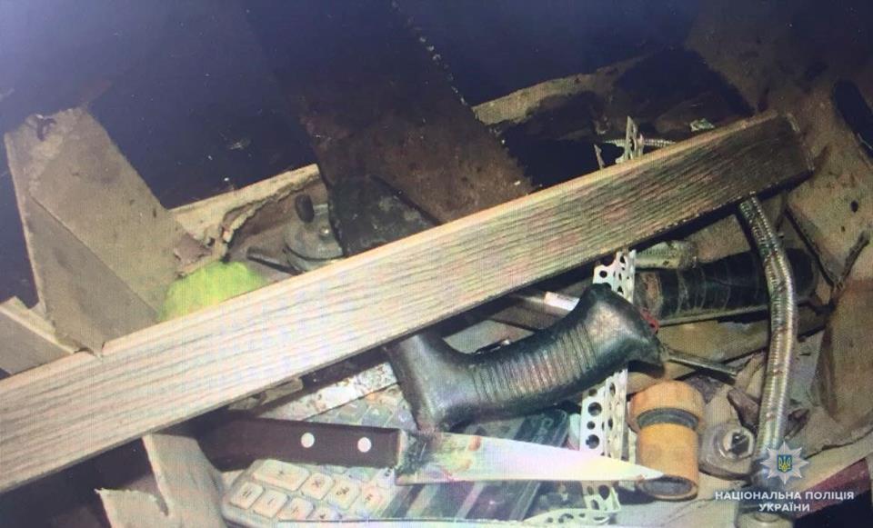 На Ірпінщині за нанесення смертельних ножових поранень затримано підозрюваного