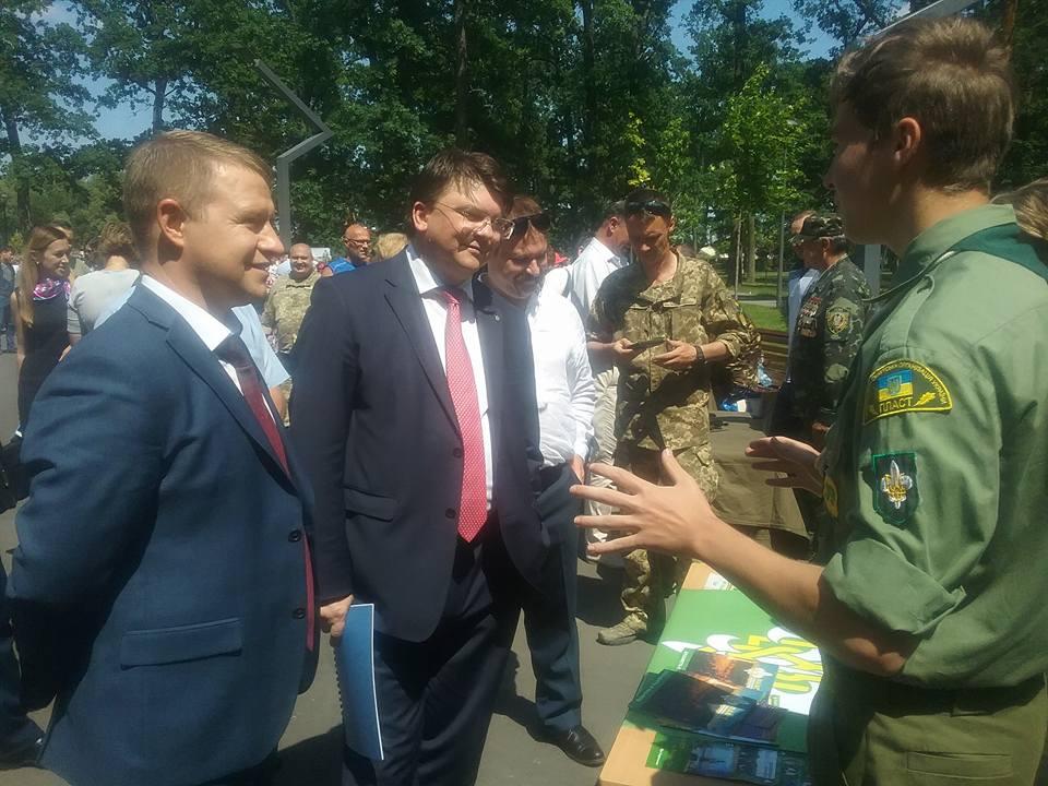 Київщина — лідер з національно-патріотичного виховання молоді серед областей України