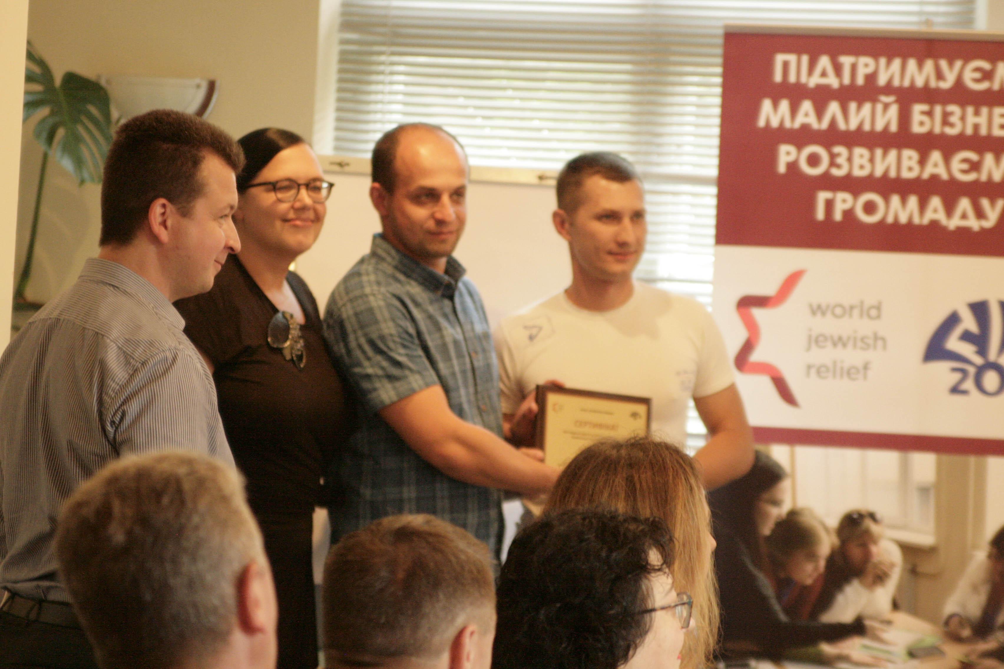 MG_3243 216 тис. грн. для розвитку малого бізнесу: в Бородянці привітали переможців конкурсу бізнес-проектів