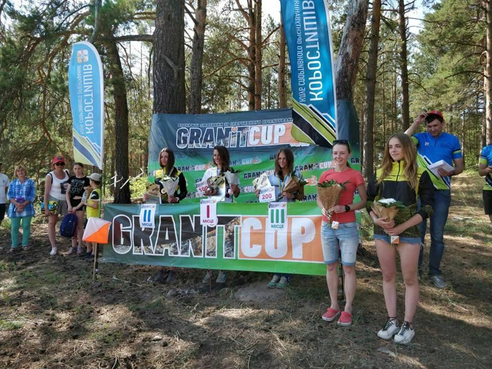 """Ірпінські орієнтувальники — переможці та призери змагань """"Granit Cup 2018"""""""
