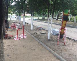 Триває капітальний ремонт ігрових майданчиків ДНЗ міста Буча