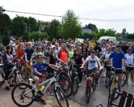 Велопробіг на Васильківщині об'єднав покоління