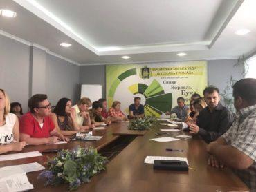 """У Бучі відбулася розширена нарада з представниками """"Київобгазу"""""""