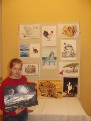 Підтримаймо талановиту художницю із Ворзеля!