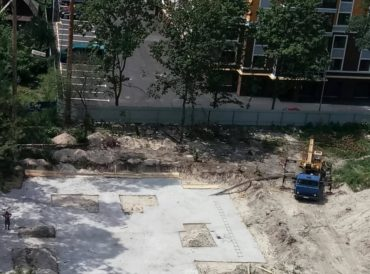 На території ДСО, незважаючи на судову заборону, вчергове відновлено будівельні роботи