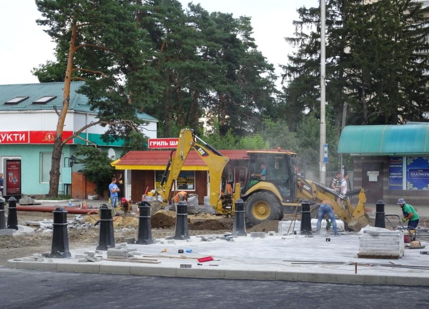 Витрати на будівництво в Ірпені площі Творчого духу вже перевищують 15 мільйонів гривень?