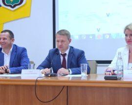 Губернатор Київщини Олександр Горган у Василькові