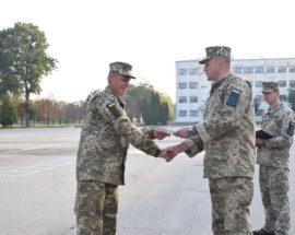 У Василькові відбувся випуск військовозобов'язаних оперативного резерву другої черги