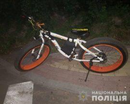 Ірпінська поліція затримала киянина, який у Ворзелі відібрав у місцевого жителя електровелосипед