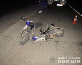 На трасі Київ – Одеса під час ДТП загинув неповнолітній водій моторолера