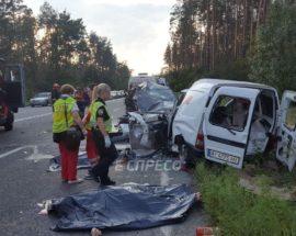 Кермувальнику, підозрюваному в смерті чотирьох осіб внаслідок аварії на новоірпінській трасі, загрожує 10 років позбавлення волі