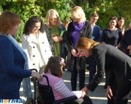 Марина Порошенко відкрила інклюзивно-ресурсний центр у Василькові