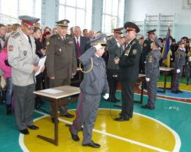 Представники Президентського полку навчають білоцерківських кадетів