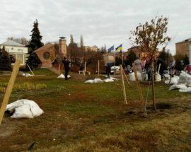 Васильків прикрашатиме алея сакур