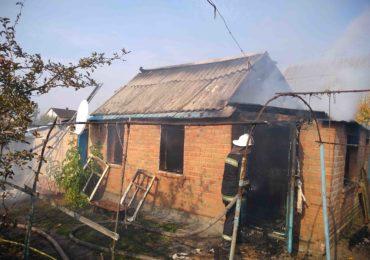 Білоцерківський район: ліквідовано загорання приватного будинку