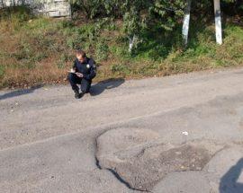 «То яма, то канава» у Фастівському районі проінспектували проблемні дороги