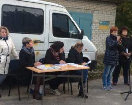 У Ворзелі пройшло перше голосування у рамках громадських обговорень щодо приєднання селища до Бучанської ОТГ