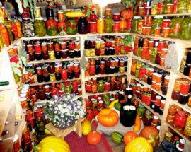 Консервированные кабачки помидоры