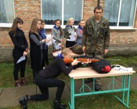 Школярі Васильківщини готуються захищати Україну