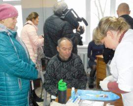 У Василькові пройшла акція до Всесвітнього дня боротьби з діабетом