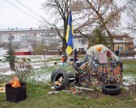 Героїв революцій вшанували у Калинівці на Васильківщині