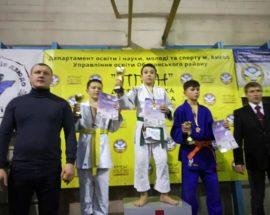 «Золото» і «бронзу» вибороли васильківчани на Всеукраїнському турнірі з дзюдо